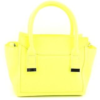 Danielle Nicole Alia Mini Satchel Women Synthetic Satchel - Yellow