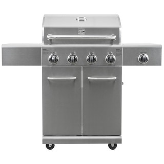 Link to Kenmore 4 Burner with Searing Side Burner All Stainless Steel Grill Similar Items in Grills & Outdoor Cooking