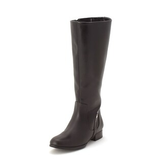Ros Hommerson Womens Song Almond Toe Knee High Fashion Boots
