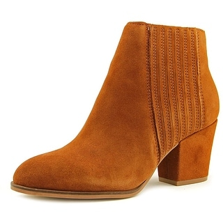 Steven Steve Madden Harleigh   Round Toe Leather  Ankle Boot