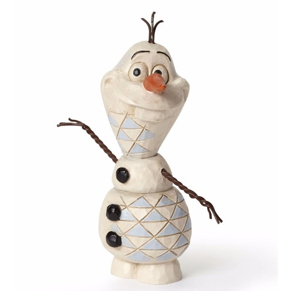 "Disney Traditions Frozen Showcase Collection ""Olaf"" Figurine #4050766 - WHITE"