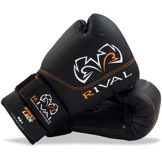 Rival Boxing RB1 Hook and Loop Ultra Bag Gloves - Black (Option: 12 Oz.)|https://ak1.ostkcdn.com/images/products/is/images/direct/cffaa59b6f637f44fd13c2ca81d421510b3dd77b/Rival-Boxing-RB1-Hook-and-Loop-Ultra-Bag-Gloves---Black.jpg?impolicy=medium