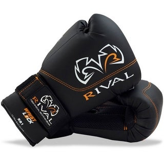Rival Boxing RB1 Hook and Loop Ultra Bag Gloves - Black (3 options available)