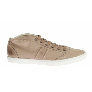 Dolce & Gabbana Beige Leather Casual Sneakers - 44