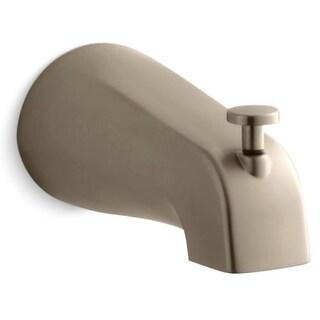 Kohler K-389 Classic 4-7/16 Inch Diverter Bath Spout with NPT Connection