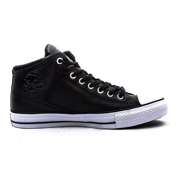4a91e53a76b Converse Mens Chuck Taylor All Star High Street Black/Black/White Sneaker