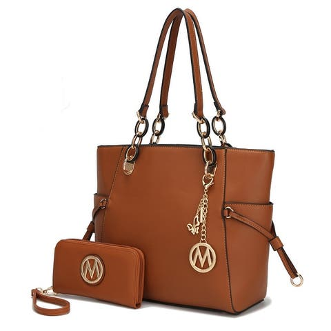 MKF Collection Yale Tote Bag with Wallet by Mia K.