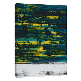 "PTM Images 9-105286  PTM Canvas Collection 10"" x 8"" - ""Squeegeescape 34"" Giclee Abstract Art Print on Canvas"