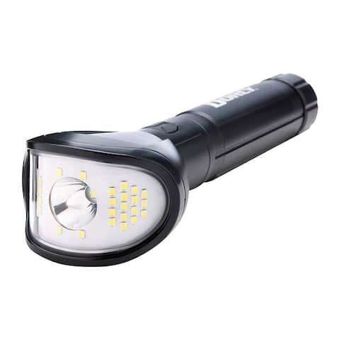 Dorcy 41-4346 Wide Beam LED Flashlight, 850 lumens, Black