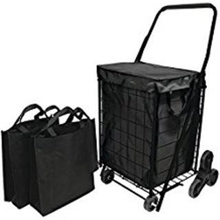 Stair Climb Cart with Liner & 2 Bags