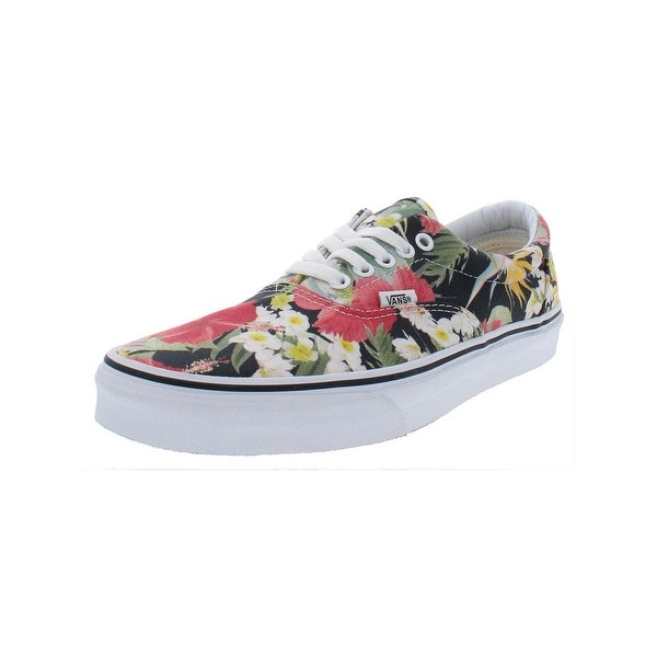 5b9102dc7c Shop Vans Mens Era Casual Shoes Floral Print Low Top - Free Shipping ...