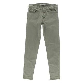 Flying Monkey Womens Skinny Jeans Heathered Stretch