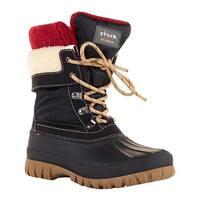 Cougar Women's Creek Snow Boot Black Camo Nylon