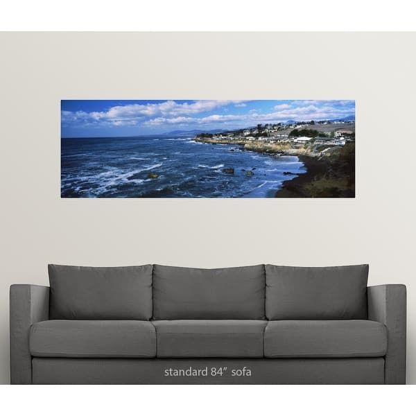 Village At The Waterfront Cambria San Luis Obispo County California Poster Print Overstock 27360078