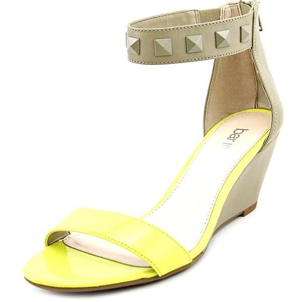 Bar III Kendal Women Yellow/Grey Sandals