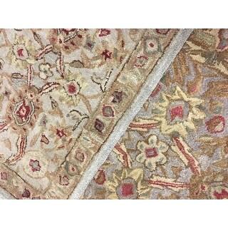 Safavieh Handmade Anatolia Oriental Grey Beige/ Sage Green Hand-spun Wool Rug (3' x 5')