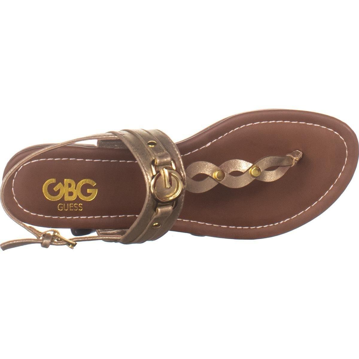 GBG Guess Links Flat Thong Sandals