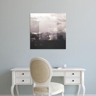 Easy Art Prints Laura Marshall's 'Framed Landscape IV' Premium Canvas Art
