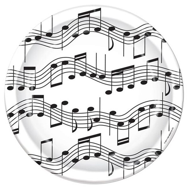 Shop Beistle 58073 Musical Note Plates