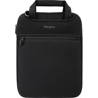 Targus Tss912 12 Vertical Slipcase With Hideaway Handles - Black