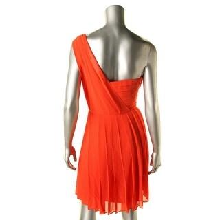 Rachel Rachel Roy Womens Chiffon Prom Cocktail Dress