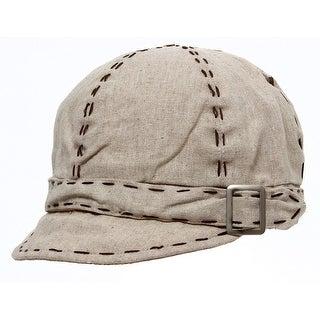 Womens Stich Belt-Banded Cadet Hat