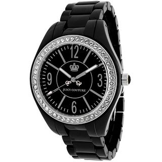 Juicy Couture Women's Lively 1900643 Black Dial watch