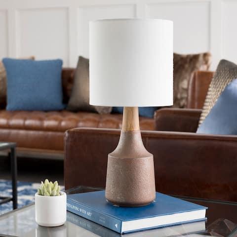 Hadrian Brown Modern Table Lamp