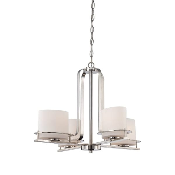 "Nuvo Lighting 60/5104 Loren 4 Light 26-1/4"" Wide Chandelier"