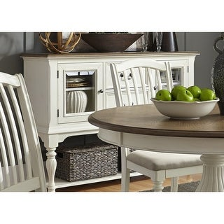 Link to The Gray Barn Arctic Arrow Nutmeg and White Server Similar Items in Dining Room & Bar Furniture