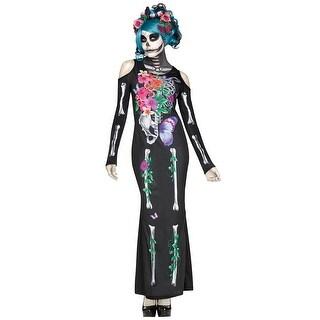 Beautiful Bones Dress Costume, Day Of The Dead Dress Costume