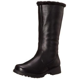 Propét Womens Madison Leather Closed Toe Mid-Calf Fashion Boots