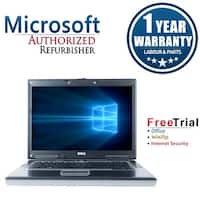"Refurbished Dell Latitude D531 14.1"" AMD Dual Core 1.6GHz 4GB DDR2 250GB DVD Win 10 Home 64 (1 Year Warranty) - gray"