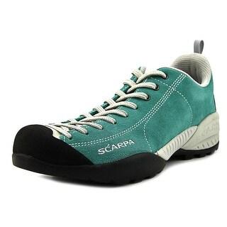 Scarpa Mojito Men  Round Toe Suede Blue Hiking Shoe
