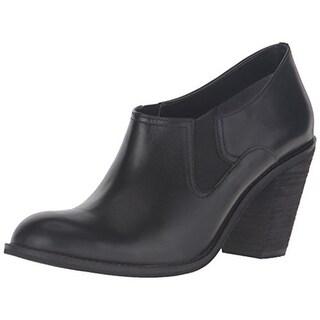 SoftWalk Womens Fargo Shooties Leather Heels