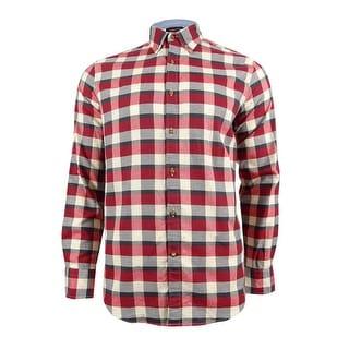 Nautica Men's Seedpearl Plaid Shirt