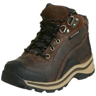 Timberland Boys Pawtuckaway Leather Toddler Hiking Boots - 7 medium (d)