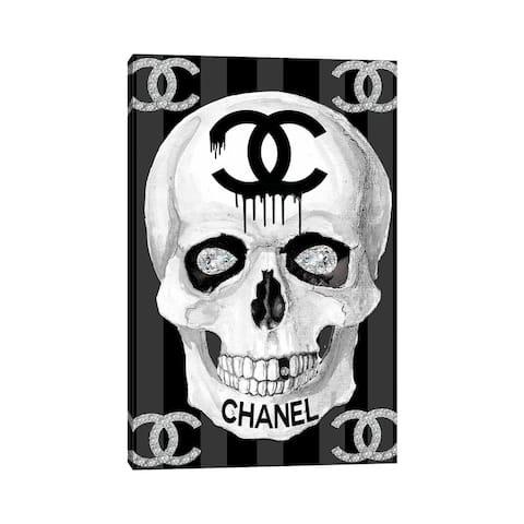 "iCanvas ""CC Skull"" by Studio One Canvas Print"