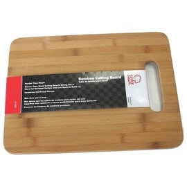 "Chef Craft 21589 Bamboo Cutting Board, 12-1/2"" X 9-1/2"""