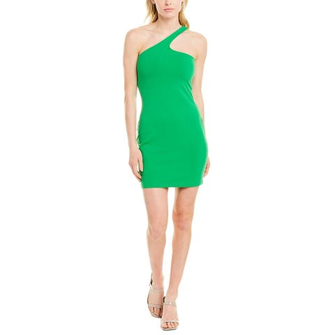 Susana Monaco One-Shoulder Mini Dress