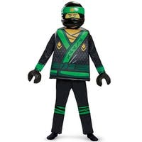 Disguise Lloyd Movie Deluxe Child Costume - Black/Green