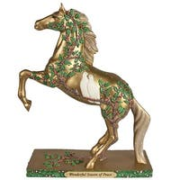 Painted Ponies Wonderful Season of Peace Horse Figurine