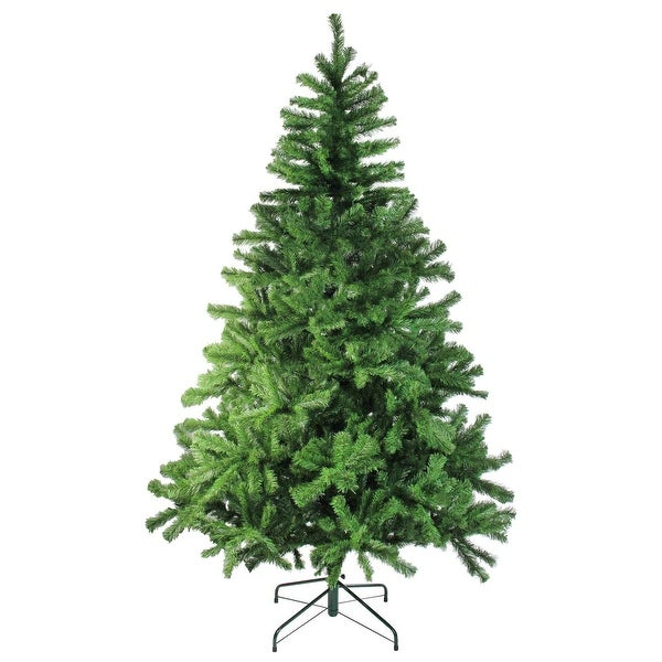 8' Colorado Spruce 2-Tone Artificial Christmas Tree - Unlit - green