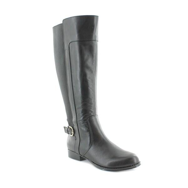 Isaac Mizrahi Live! Toby Women's Boots Black