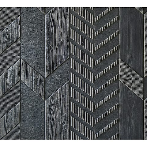 """Premium Peel and Stick 3D Embossed Form Wall Panel, 28""""x28""""/pc"""