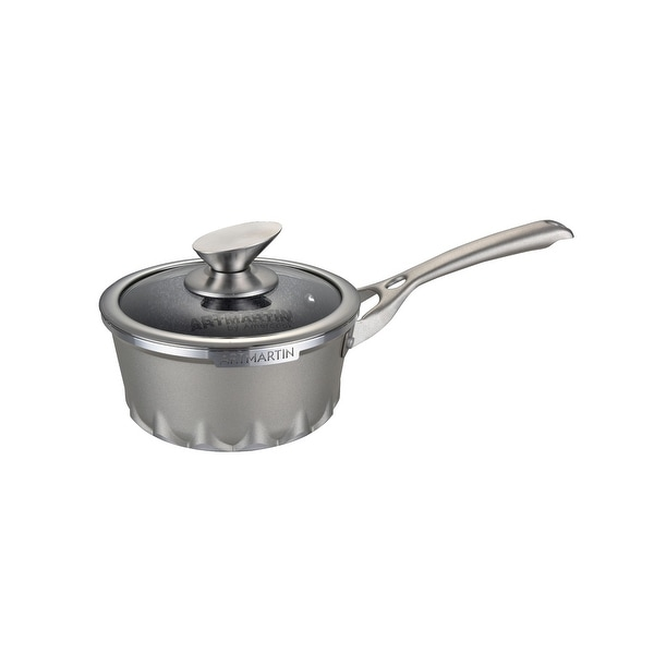 ARTMARTIN Sauce Pan Non-Stick Ceramic Coated Pot - 6.3 inch. Opens flyout.