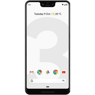 Google Pixel 3 XL 64GB Unlocked GSM & CDMA 4G LTE Android Phone w/ 12.2MP Rear & Dual 8MP Front Camera