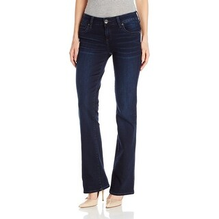 Kut from the Kloth NEW Blue Women's Size 2S Short Boot Cut Jeans