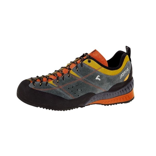 Boreal Shoes Mens Flyers Lightweight Climbing Gray Yellow Orange
