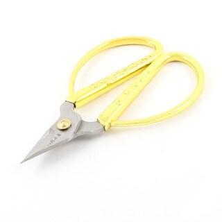 """Unique Bargains 4.3"""" Long Dragon Phoenix Printed Metal Grip Fingernail Scissors Shears"""